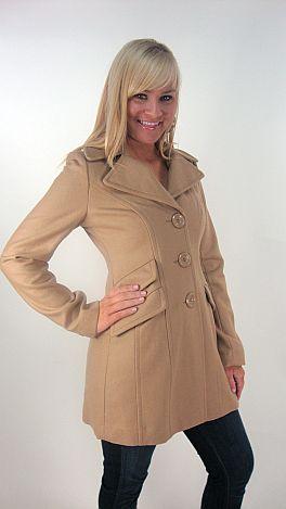 Top Notch Coat, Khaki