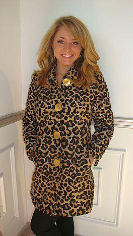Lux Leopard Coat