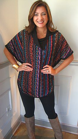 Lights Of Salt Lake Tunic