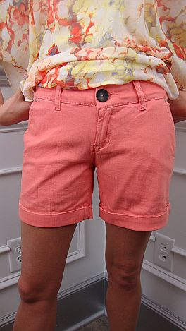 Melon Trouser Shorts