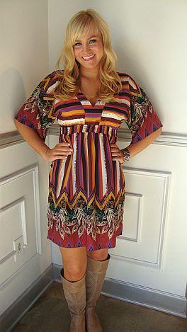 KARLIE Tabatha Dress