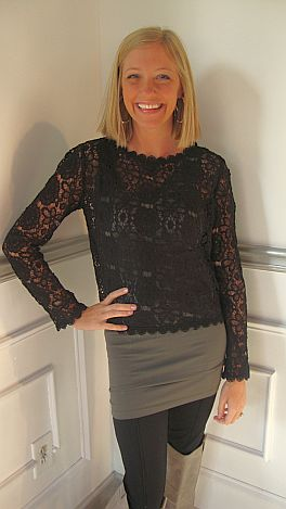 Winning First Lace Top