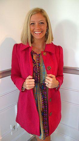 The Kimberly Coat Pink