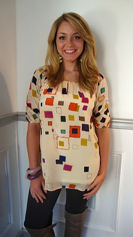 Puzzle Pieces Tunic