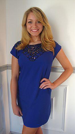 Cobalt Queen Dress