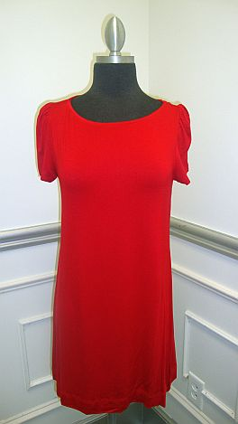 The BD Basic Tunic Red