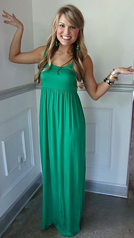 THE Blue Door Maxi, Kelly Green