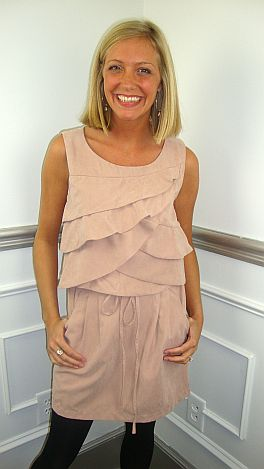 Pur-Suede Me Dress