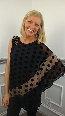 Be Spotted Out Tunic