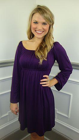 BD Babydoll Dress, Purple