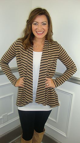 KARLIE Charlie Brown Cardigan
