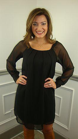 Gwyneth Dress Black