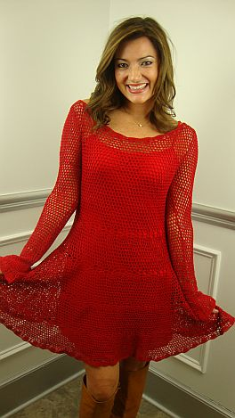 Seeing Red Dress