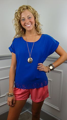 The Adelaide Top, Blue