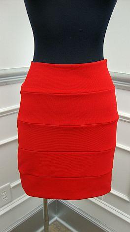 Red Hot Mini Skirt