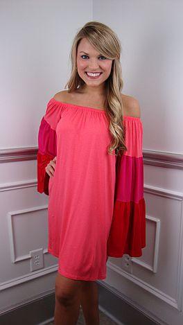 Lucca Colorblock Dress