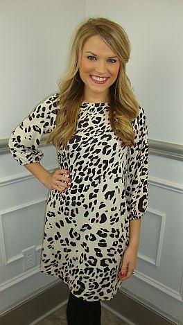 Lottie Dottie Leopard Tunic