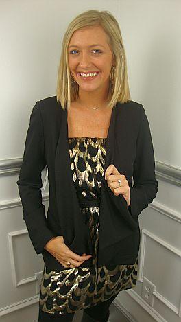Black Tuxedo Jacket