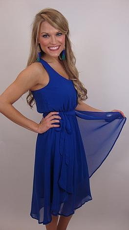 Blue Light Me Up Dress