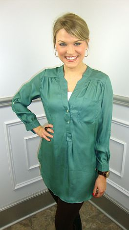 Boy Crazy Tunic, Sage