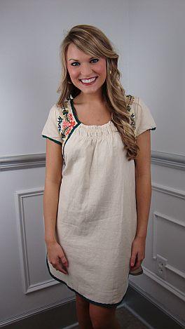 Carson Boho Dress