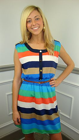 Mr. Jacobs Striped Dress