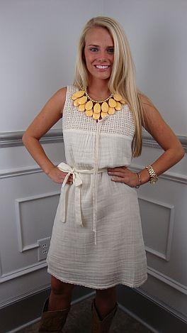 Crochet Me Crazy Dress