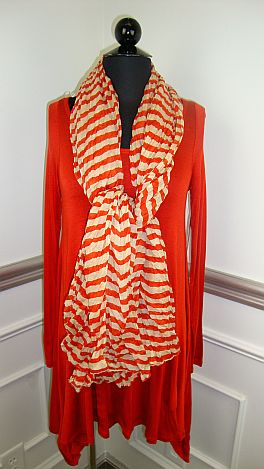 Taking Flight Tunic, Orange