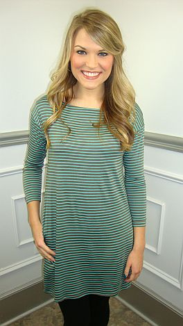 Can't Resist Tunic, Turquoise
