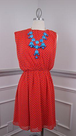 Spots Ahoy Dress