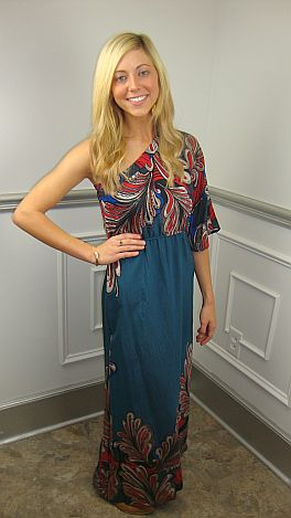 Feather Duster Maxi