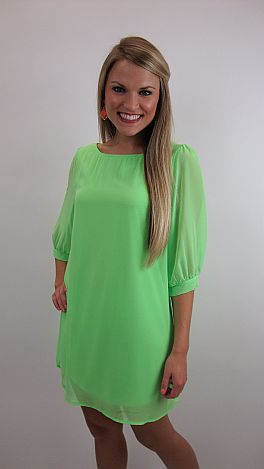 In The Lime Light Dress