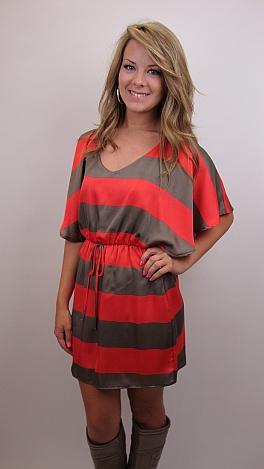 Going on Stripe Dress