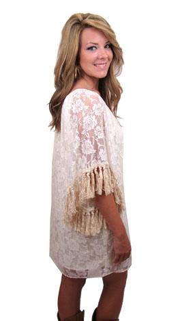 Antoinette Tassel Dress
