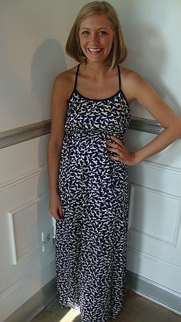 Here Little Birdie Maxi Dress