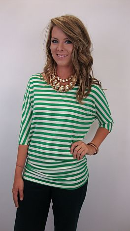 Break Free Top, Green