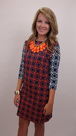 Tracy Negoshian Ruth Accent Sleeve Dress