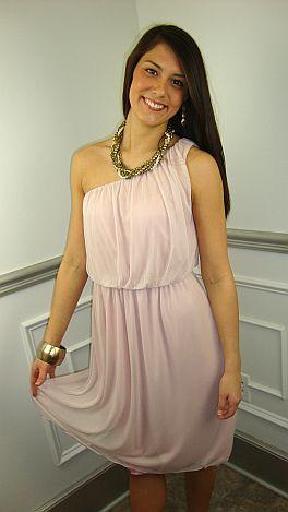Blush And Bashful Dress