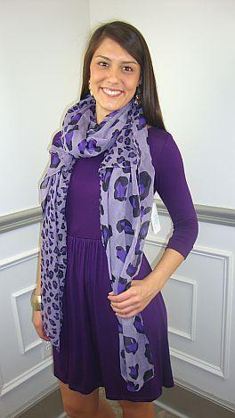 The Whitney Dress, Purple