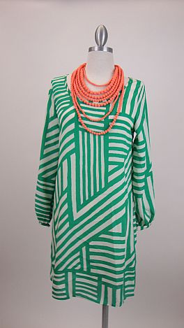 Crossroad Dress, Green