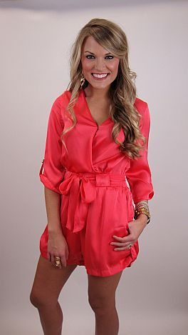 Pink-ing Of You Romper