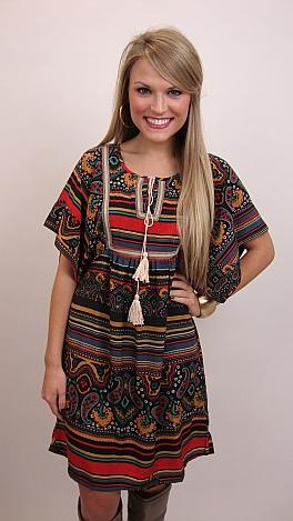 Paisley Princess Dress