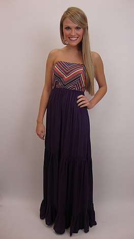 The Danny Maxi Dres, Purple