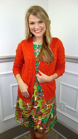 Poppy Textured Cardigan