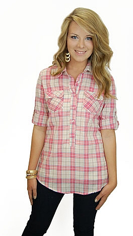The Bella Button Down