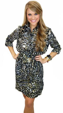 Singita Shirt Dress