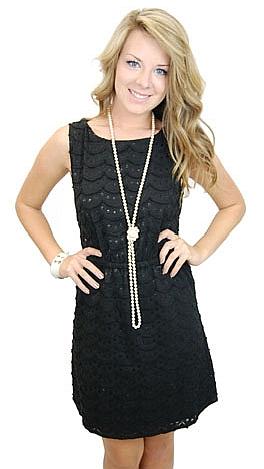 No Doubt About It Dress, Black