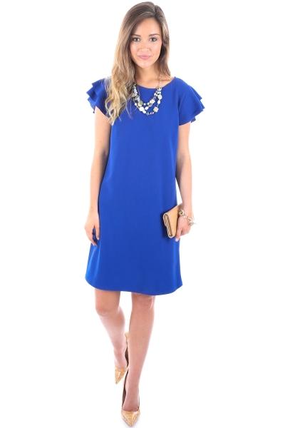 Spring Sonnet Dress, Royal