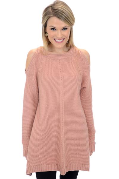 Kelsey Sweater, Rose