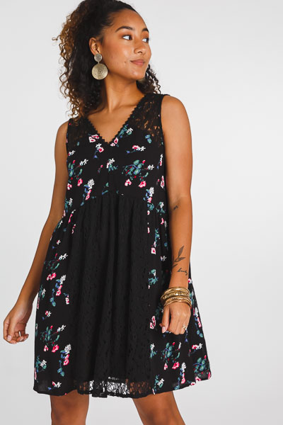 Free Time Floral Dress